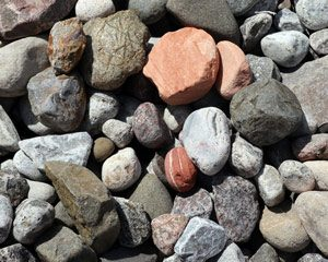 Washed river rock product | Keyes Sand & Stone