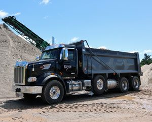 Peterbuild commercial dump truck | Keyes Sand & Stone