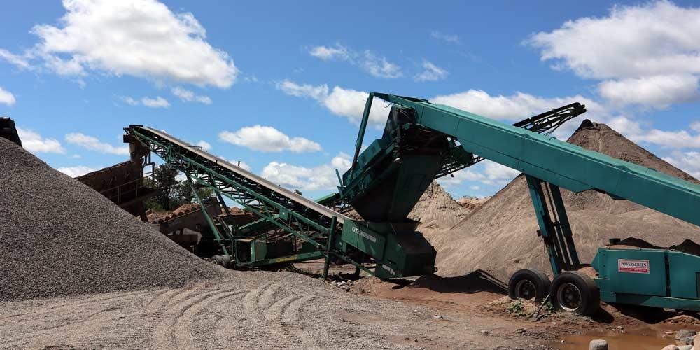 Pit Equipment   Keyes Sand & Stone