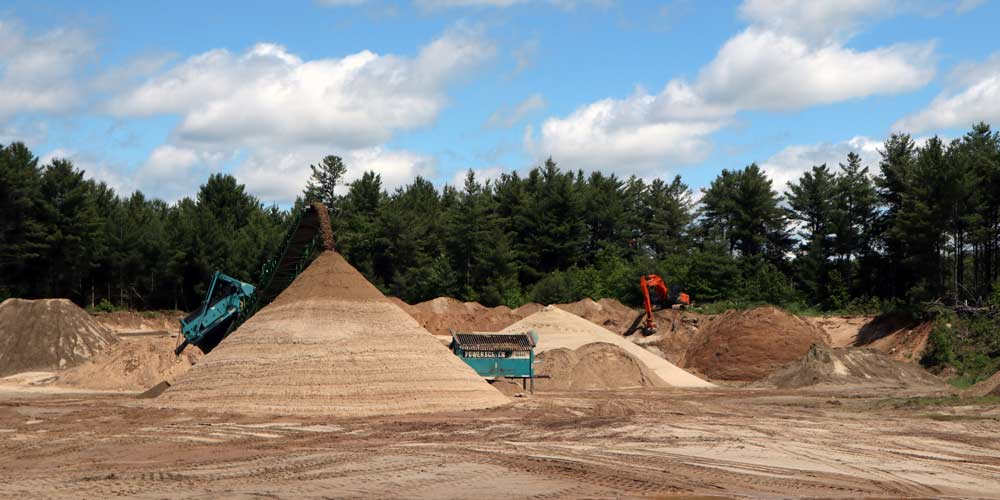 Shortall Pit   Keyes Sand & Stone